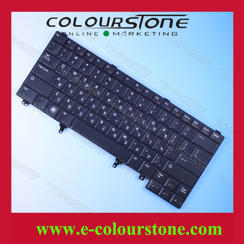 High qulity new laptop repair keyboard for DELL E6420 E5420 E6220 E6320 E6430 HB BLACK