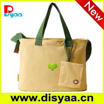 2017 ladies hand bag China manufacturer handbag cheap eco friendly cotton canvas bags