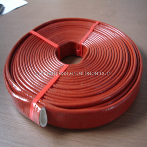 Lower Price Reinforced Textured Wholesale Products Domestic Fiberglass Silicone Rubber Sleeving