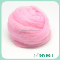 Natural wool rovings for needle felting craft wool wholesale