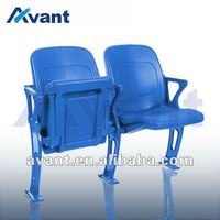 Merit folding chair plastic upholstery seating gym seating university seat plastic seats