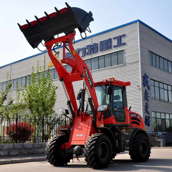 2 Ton Articulated Mini Loader Made In China