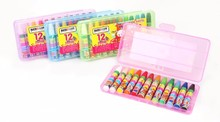 Environmental protection High quality kids colored pencils crayons in bulk