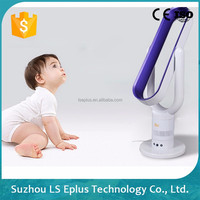 Suzhou Remote Control Floor Stand Bladeless Fan, Air Cooling Bladeless Fan