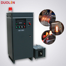 induction preheating machine for making bolts and nuts