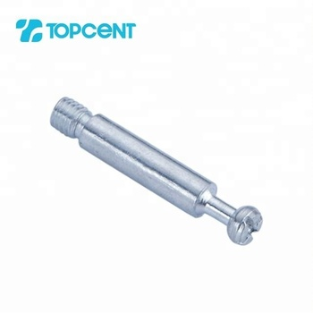 TOPCENT Iron material furniture connecting minifix cam bolts