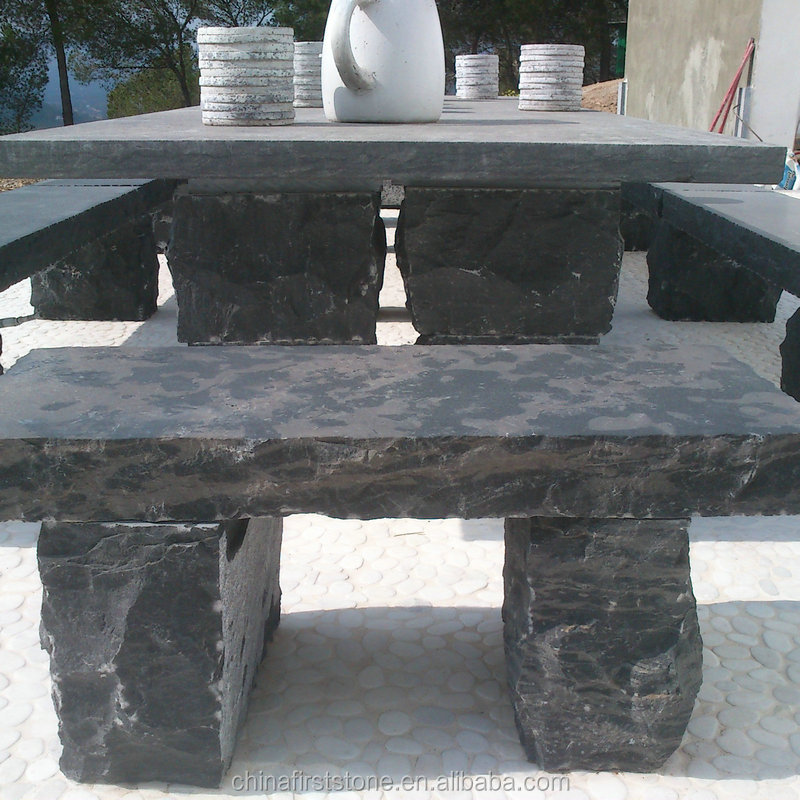 Hot Selling Outdoor Durable And Utility granite stone garden bench