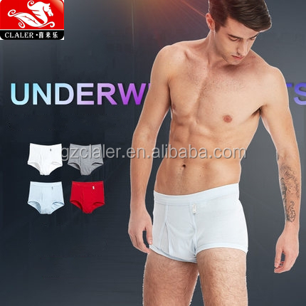 bulk high quality custom made mens underwear cotton panties for men Boxers & Briefs