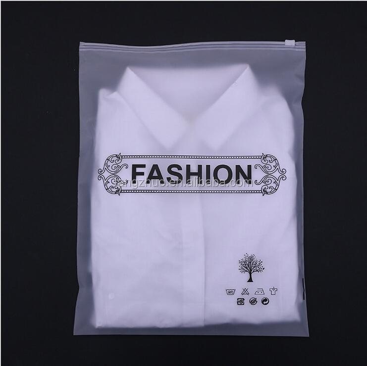 2017 China Yiwu manufacturer wholesale waterproof clothes custom packaging plastic bag with zipper transparent ziplock bag