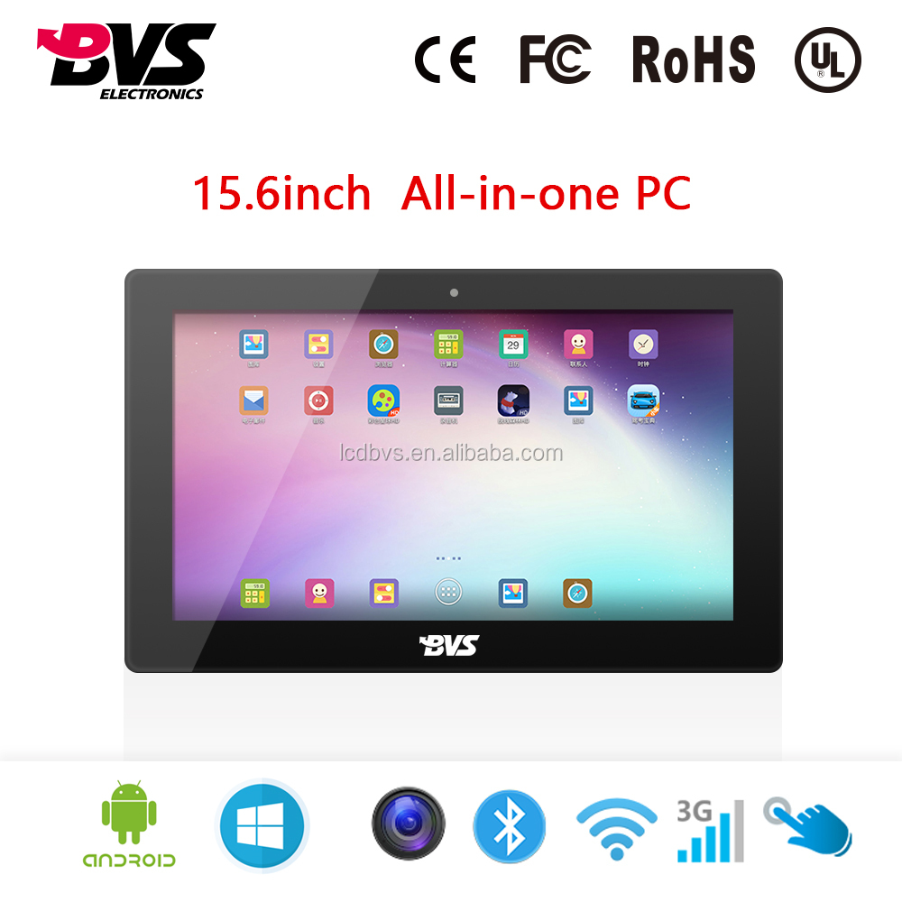 smart white board 15 inch touchscreen all in one pc for pos system rk3188