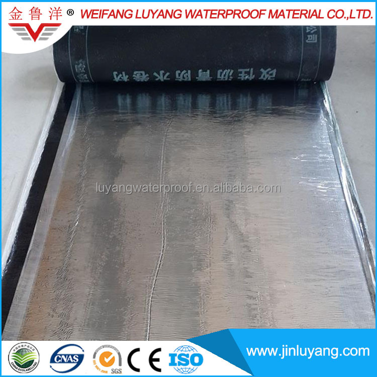 China Supply Aluminum Film Coated High Quality SBS/APP Modified Bitumen Waterproof Membrane