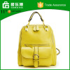 China Manufacture Genuine Leather Women Long Stripe Shoulder Bag