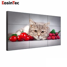 "Ultra narrow bezel led video wall 3.9mm 55"" Samsung Panel"