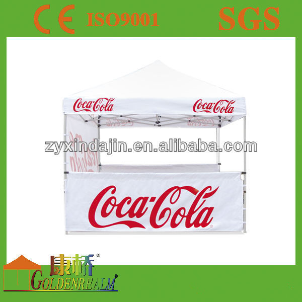 Outdoor Racing Custom Printed folding canopy Durable Aluminum Frame Full Color 10x10 Ez Up Canopy