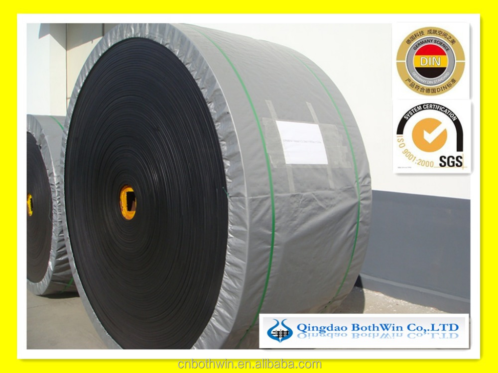 high quality oil resistant endless rubber conveyor belt