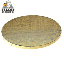 Round Sliver Cardboard Cake Drum boards Thickness Circle Cake Base for Presenting Decorated Cakes