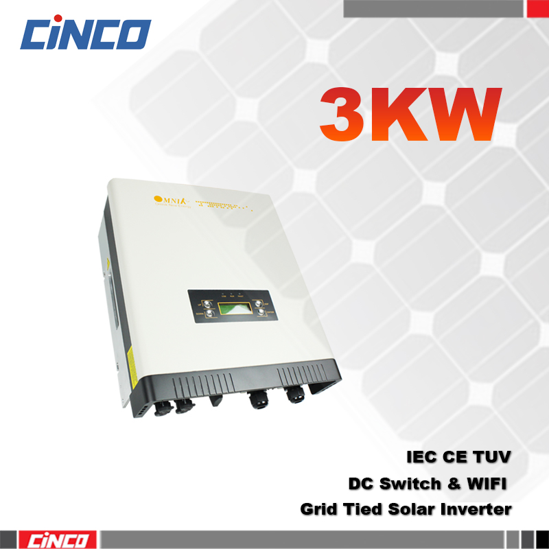3000W grid tie solar power inverter/converter,grid tie solar system power inverter