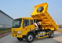 Hot Sale FAW 10m3 4X2 J5K Light Dump Tipper Truck