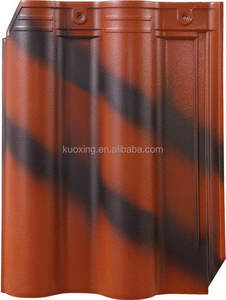 factory price chinese ceramic roof tiles manufacture