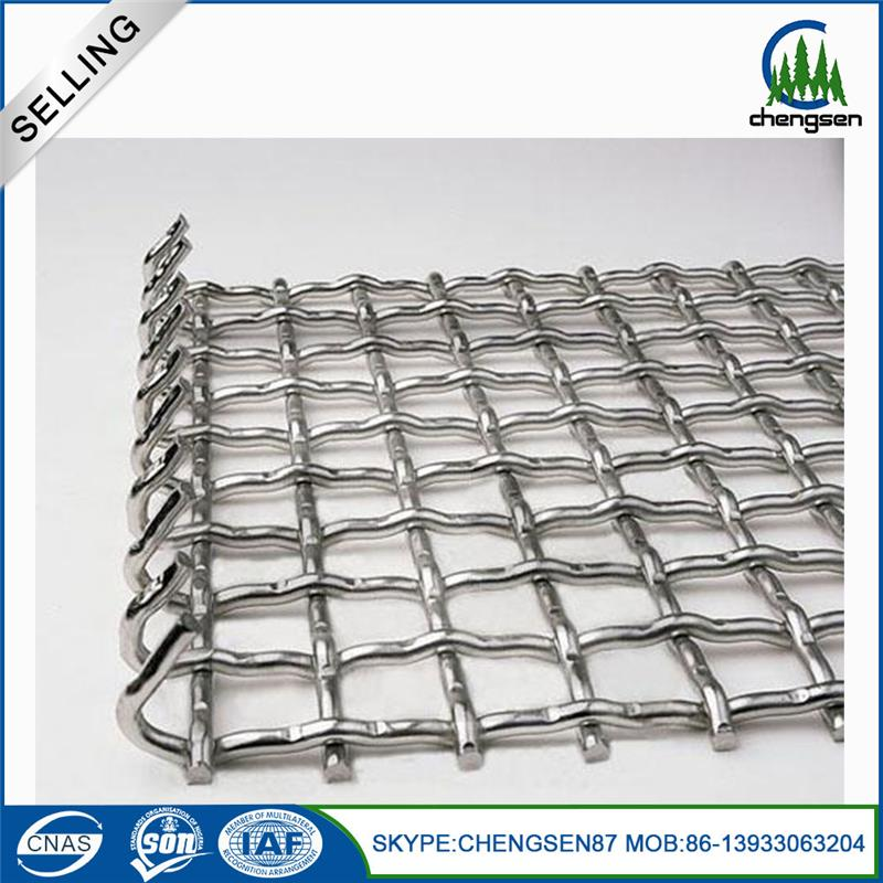 Steel circle perforated metal mesh crusher mesh stainless steel frame vibrating mine sieving wire mesh screen