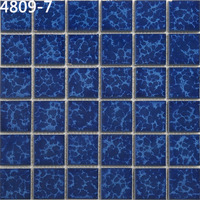Unique Design 48X48 Mosaic Blue Tile