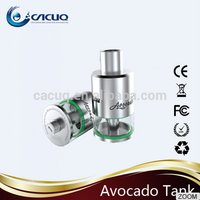 Cacuq Authentic Geek Vape Avocado 3ml RTA Tank with Velocity-style Dual Post Deck