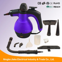 1000W Multi-Purpose Pressurized handheld steam cleaner and Sanitizing System with Attachments for Stain Removal CE GS ROHS ETL