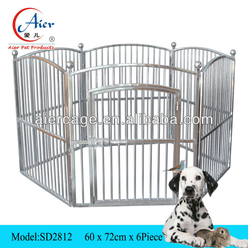 Factory supplier pet cage puppy playpens exercise pens