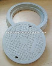 Locking manhole cover and frame