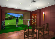 China home indoor golf simulator