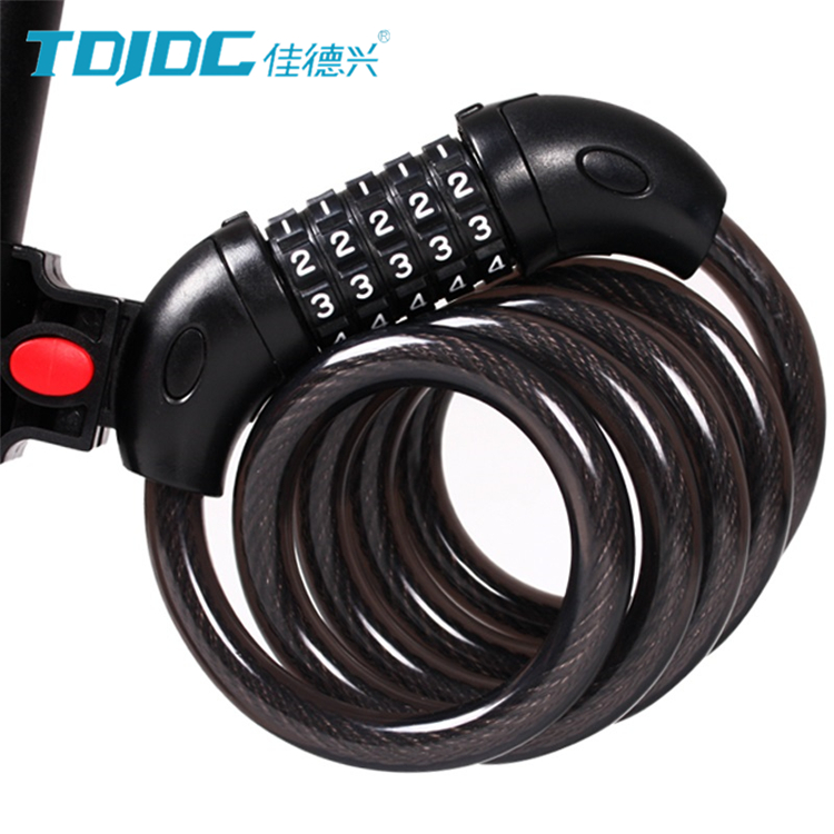 cable lock for mountain bike/ small cable lock mtb bicycle