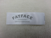 factory direct customized cloth label, cheap cloth label