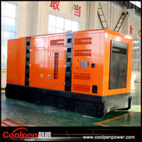 Silent diesel generator 50Hz 220v 380v 3 phase with Chinese engine and alternator