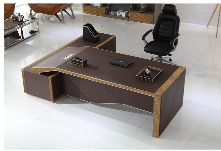 Luxe hout executive bureau tafel w kantoor tafel executive ceo