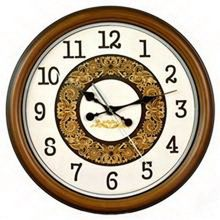 Contemporary new products simple fashion originality canvas wood frame wall clock