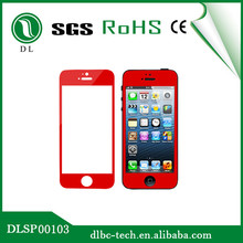 Best quality 0.33mm ultra slim color screen guard for iphone