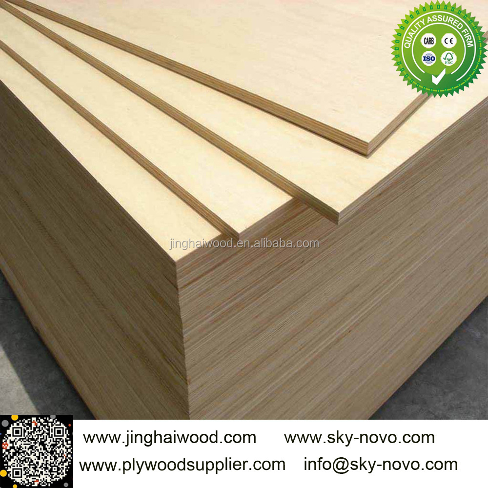 1220*2440*5.2mm cabinet grade birch plywood