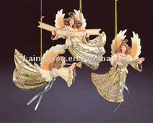 polyresin angel decoration, angel hanging
