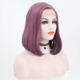 free shipping synthetic lace front bob wigs with different colors for wholesalers