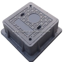 telecom well lid heavy duty manhole cover cnc cast iron with low price