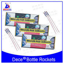 UN0336 consumer fireworks whistling moon traveller bottle rockets