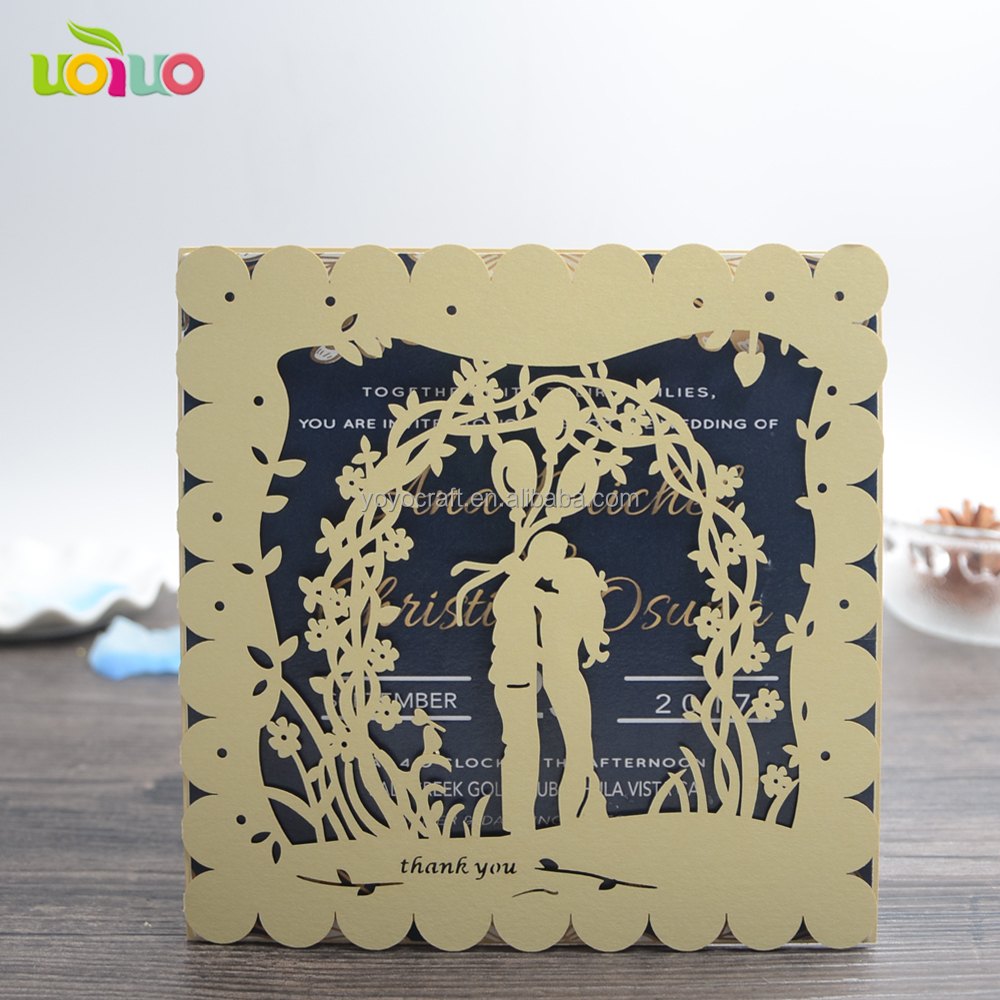 ideal products designs models handmade greeting invitations latest romantic wedding cards wedding invitations