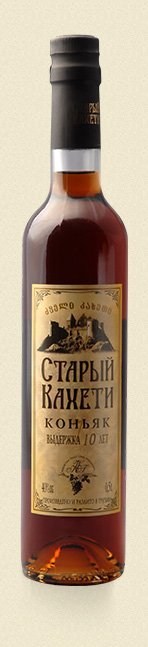 Old Kakheti 10 years old georgian brandy