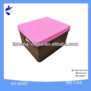 Newest style!! polyester fabric Underbed Storage Boxes With Lids