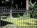 Popular Metal Garden Fence With Powder Coating