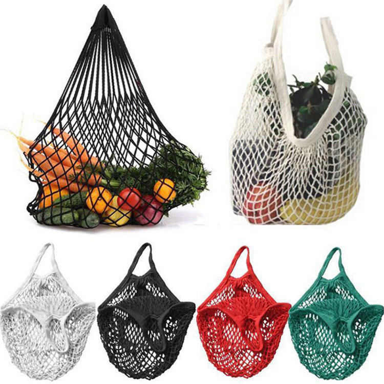 Creative Kitchen Food Storage Bag Reusable Cloth Mesh shopping bag travel beach bags Knit Vegetable Fruit Storage Handbag <strong>Totes</strong>