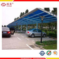 Marolon carports garages with polycarbonate roof