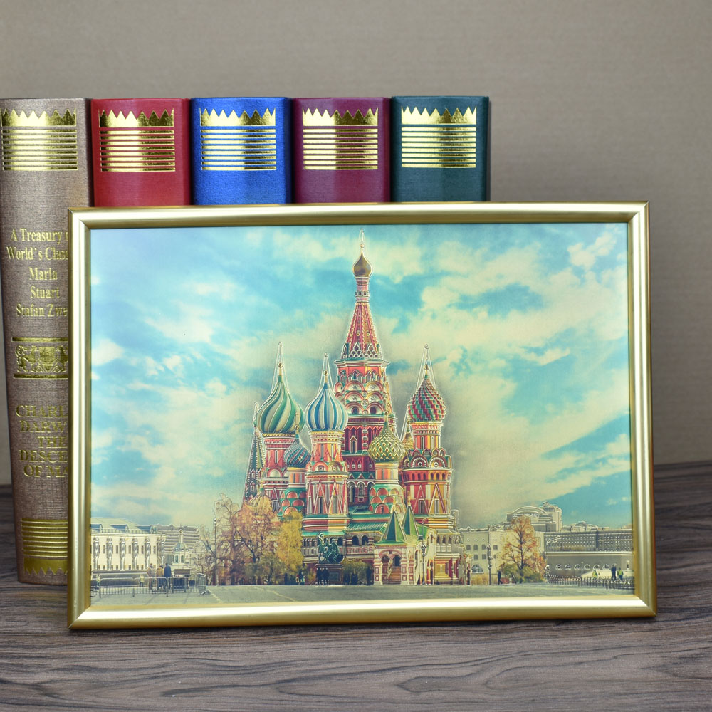 Wholesale Customize Gold Fiol And Color Painting For Room Hotel Wall Decoration