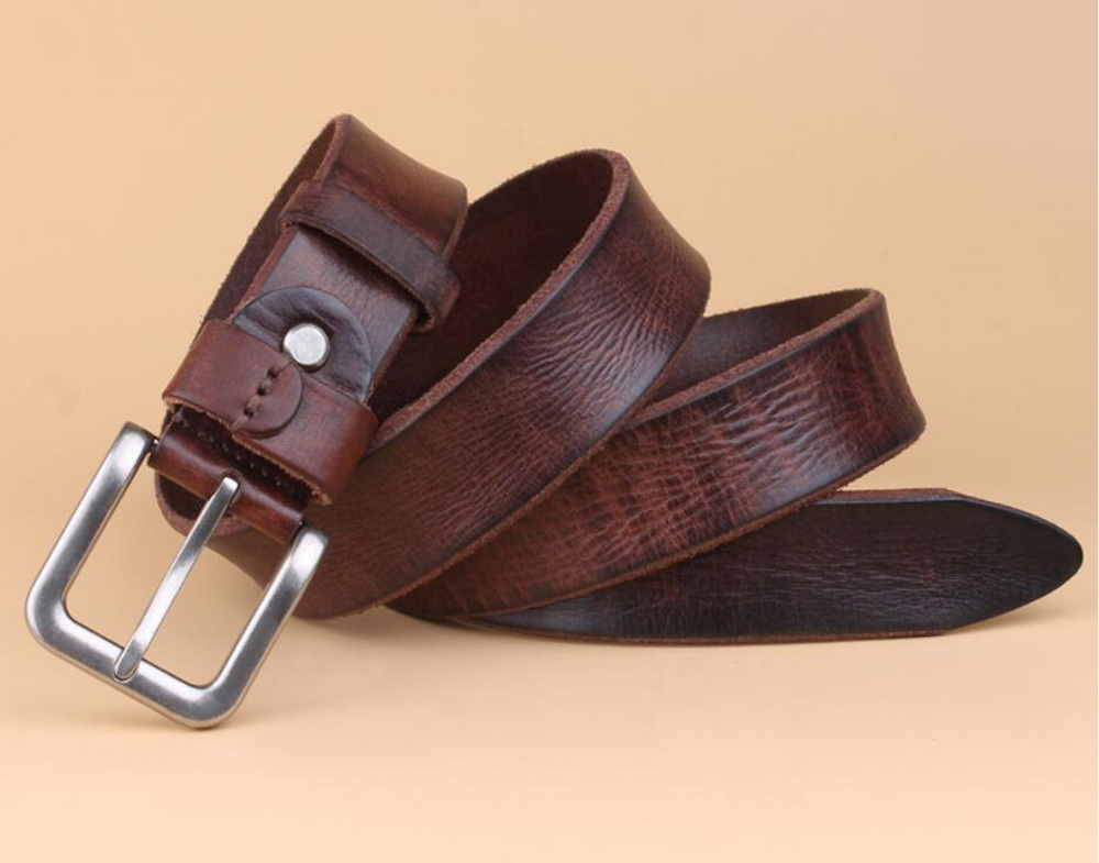 Hot sale man and woman cow hide genuine Leather <strong>belt</strong>