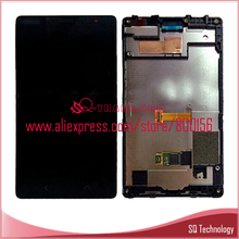LCD Touch Screen for Nokia Lumia X2 1023 LCD +Touch Screen+Frame black color